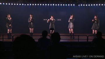 200903 AKB48 Theater Performance 1900 HD