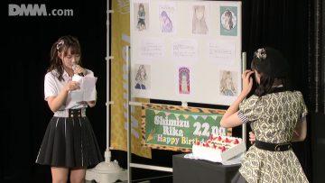 200915 NMB48 Theater Performance 1900 – Shimizu Rika's Birthday – HD