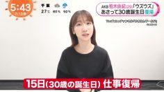 210713 AKB48 Kashiwagi Yuki's TV News – Mezamashi TV – HD.mp4-00007