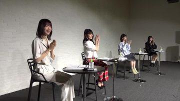210914 Small Worlds Channel – small worlds de wo Tsukimi Haishin! Halloween Event Start Commemoration! Ambassador Mini Live! – AKB48 Okabe Rin, Shimizu Maria, Oda Erina – HD.mp4-00006